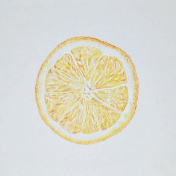 """Screenshot_2019-02-25 Blair O on Instagram """"🍊Chalk pastel drawing ✏ 🍊 #oranges #fruit"""""""